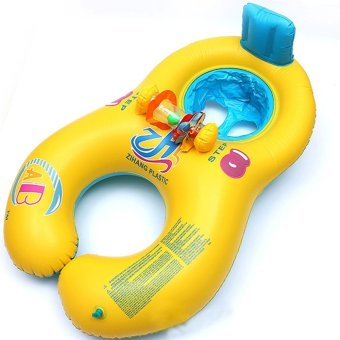 Adults Babies Inflatable Pool Swim Ring Seat Float Boat Yellow Price Philippines