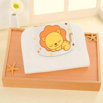 Harga BEST STORE BABY SHOP Baby Absorbent Back Towel Lion