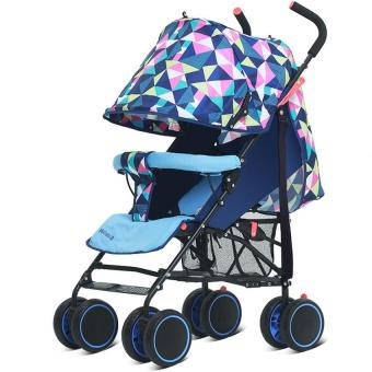 Harga Portable car can sit can lie portable umbrella stroller