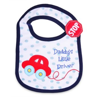 Harga Give Baby Care Daddy's Little Driver Bib