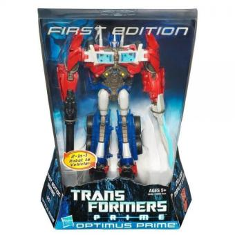 Harga Optimus Prime Transformers Prime Action Figure Voyager Class First Edition