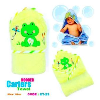 Harga Best Store Baby Shop Carter Hooded Towel (Yellow)