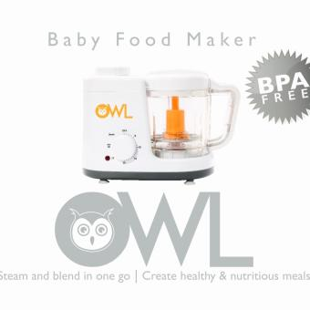 Harga Owl Baby Food Maker / Food Processor / Food Steamer & Blender