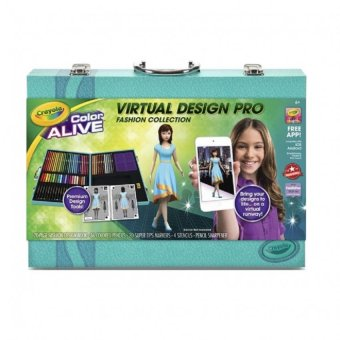 Harga CRAYOLA Virtual Design Pro Fashion Collection