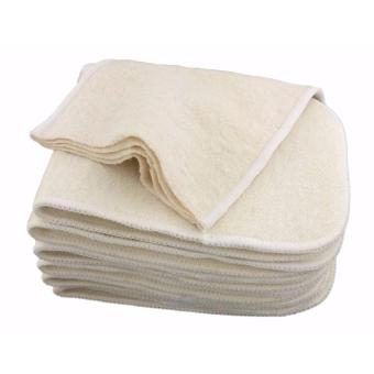 Hemp Organic Cotton 4-Layer Cloth Diaper Insert Price Philippines