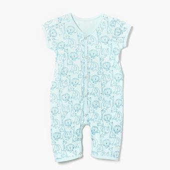 Harga Hush Hush Boys Animals Bodysuit (Blue)