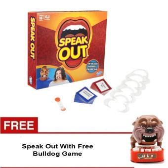 Speak Out Mouthpiece Board Game Party Challenge Friends Game With Free Bulldog Game Price Philippines