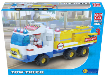 Harga Emco Tow Truck Building Blocks Toy