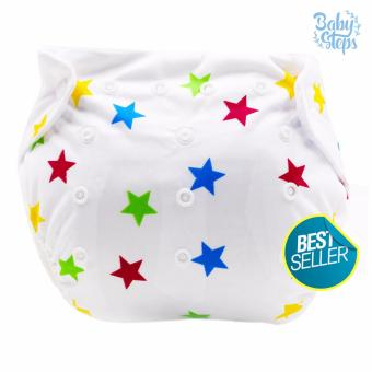 Harga BABY STEPS Brownie Stars Diapers