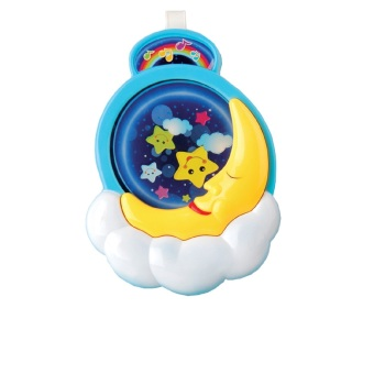 Harga Newborn Infant Baby Bed Bell Music Box Toys Moon Music Bed Bell