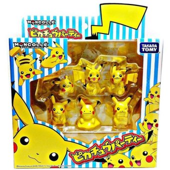 Pokemon Moncolle Pikachu Party Pack Price Philippines
