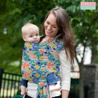 Harga Baby Boom Premium Printed Baby Wrap Carrier