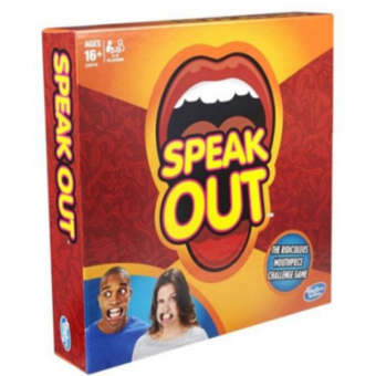 Speak Out Mouthpiece Board Game Party Challenge Game 2016 US Friends Game - intl Price Philippines