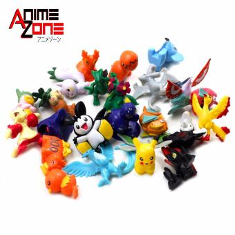 POKEMON Pack of 24 Random Assorted Mini Pokemon Collectible 3-cm Mini Figurines Set of 24 Price Philippines