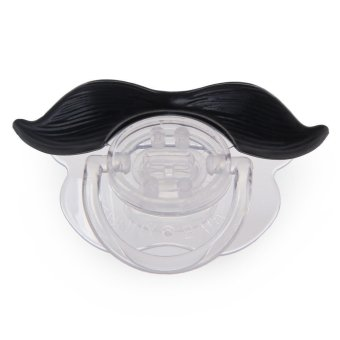 Novelty Funny Mustache Design Silicone Babies Pacifier - INTL Price Philippines