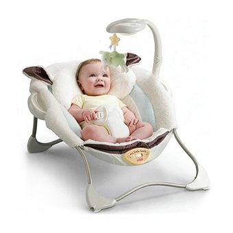 Harga Fisher-Price My Little Lamb Infant Seat Baby cradle multifunction folding chair electric appease
