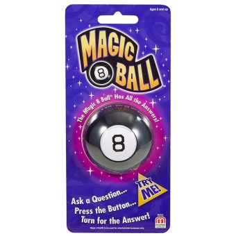 Harga Mattel Games Mini Magic 8 Ball