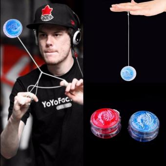 Harga Fancyqube Light Up Yoyo Trick Yo Yo Child Clutch Mechanism Toy Speed Ball Return Top - intl