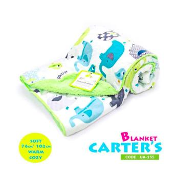 Harga New 2017 Best Store Baby Shop Soft Comfortable Carter Hooded Blanket-UA155