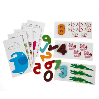 Harga NEW Wooden Letter Digital Card Kid Educational Toys kids toys(Digital)