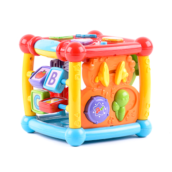 Harga VTech Baby Turn and Learn Cube