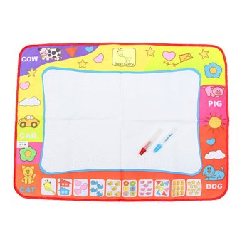 31.4' Water Drawing Toy Painting Writing Mat Board 2 Magic Pens Doodle Mat Price Philippines