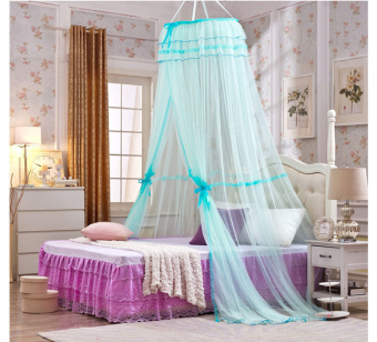 Harga Bed Mosquito Nets for Adult And Children Light Blue - intl