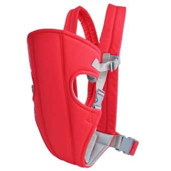Harga G@Best Adjustable Infant Baby Carrier Wrap Rider Backpack (Red)