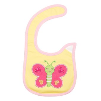 Harga Happy Baby Waterproof Bib (Butterfly)