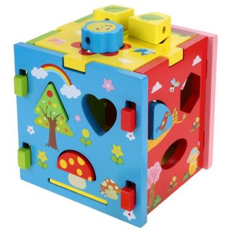 Cyber Arshiner Wooden Multipurpose Shape Intelligence Box Toys Price Philippines