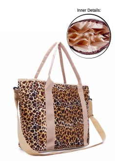 Multifunctional Mommy Baby Diaper Changing Waterproof Organizer Tote Shoulder Storage Bag (Cheetah print) Price Philippines