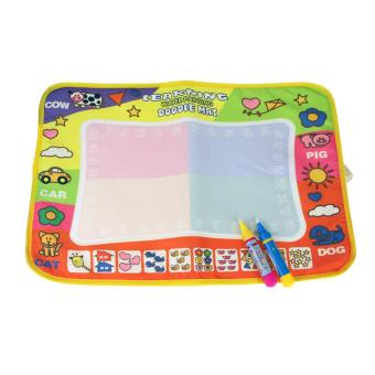 Aqua Doodle Children Drawing Toys Mat Magic Pen Educational Toy 1 Mat+ 2 Wate - intl Price Philippines