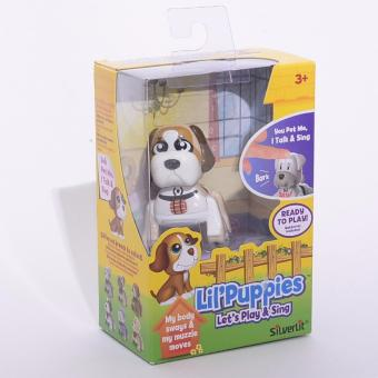 Harga Silverlit Lil' Puppies (Brown)