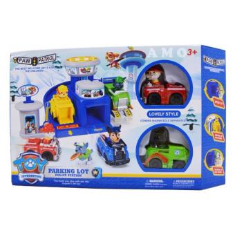 Harga Paw Patrol Police Parking Lot Toy Set