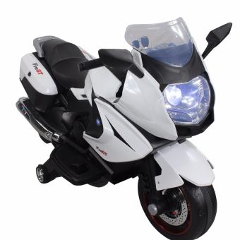 Harga F316GT Kids Rechargeable Electric Ride-On Motorcycle (White)