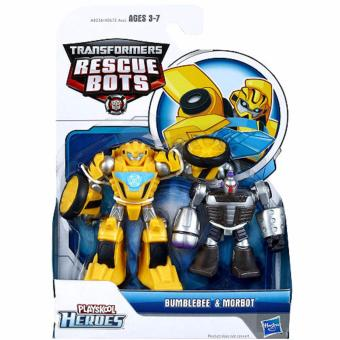 Playskool Heroes Transformers Rescue Bots Bumblebee and Morbot Figure Pack Price Philippines