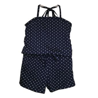 Kid Basix Navy Culottes with Small Dots Print (Navy) Price Philippines