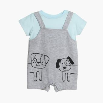 Harga Hush Hush Boys Dog Friends Jumper (Gray)
