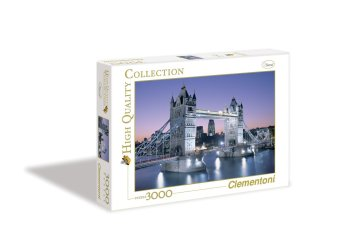 Harga Clementoni London Tower Bridge Puzzle 3000