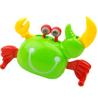 Harga Clockwork Crab High Kids Toddler Wind-up Crab Walking Toys - intl