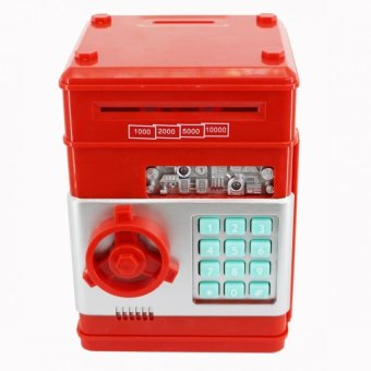 Harga SeanSean Coins and Bills Bank Safe (Red)
