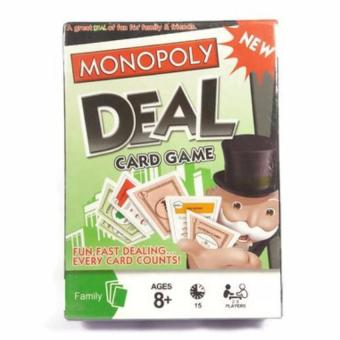 Harga Monopoly Deal Card Game (pls read what's in the box)