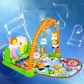 Harga lazada and USA best selling Discover 'n Grow Kick and Play Piano Activity Play Gym
