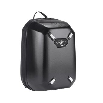 Backpack Hardshell CarryinG Case Bag Hard Shell Waterproof for DJI Phantom 3 & 4 Black(OVERSEAS) - intl Price Philippines