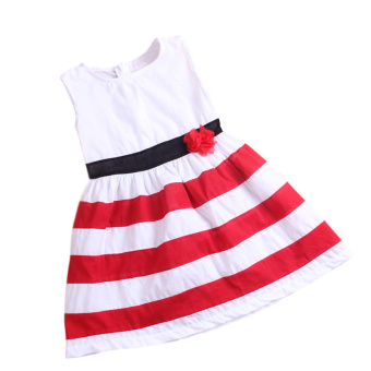 Rorychen Floral Baby Girls Sleeveless Strips Dress For Summer Price Philippines