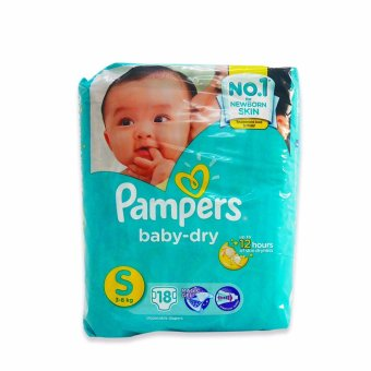 Harga Pampers Diaper Baby Dry Small 18's 615266 1's