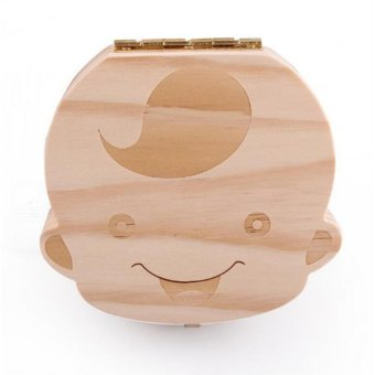 Wooden Baby Tooth Keepsake Box Organizer (Boy) Price Philippines