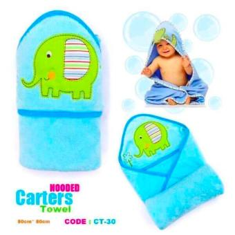 Harga Best Store Baby Shop Carter Hooded Towel (Blue)