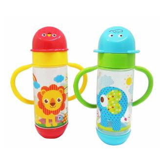 2 pcs 08oz Coral Babies Wideneck Character Bottle with Handle Price Philippines