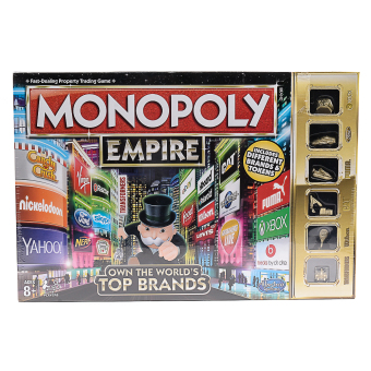 Harga Hasbro Monopoly Empire Game